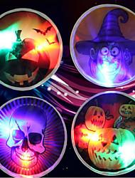 Halloween  Glow Stick Wacky Toy Props Witch Skeleton Pumpkin Glow Stick  Pattern Is Random  9cm