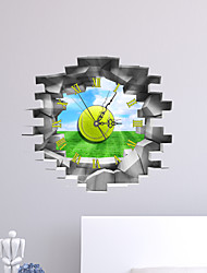 Moderne/Contemporain Niches Horloge murale,Autres Autres 420*380mm Intérieur Horloge