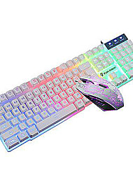 Gaming Illuminated USB Wired Keyboard and Wired Mouse Kit