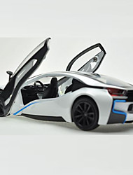 Action Figure / Play Vehicles Model & Building Toy Car Metal White / Gray / Silver For Boys Above 3