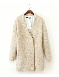 Simple Coat Long Sleeve