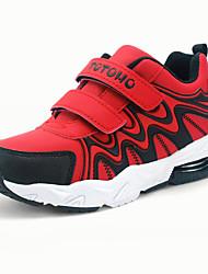 Para Meninos-Tênis-Conforto-Rasteiro-Preto Azul Vermelho-Couro Ecológico-Ar-Livre Casual Para Esporte