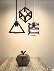 Pendant Light ,  Modern/Contemporary Vintage Country Painting Feature for Designers MetalLiving Room Bedroom Dining Room Kitchen Study