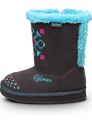Girl's Boots Fall / Winter Others / Comfort Glitter Casual Flat Heel Sparkling Glitter / Slip-on Gray Others