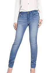 Shperdiva Women's Denim Skinny Stretch Butt Lifting Jeans