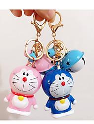 Doraemon un doraemon de bande dessinée porte-clés de rêve chat cloche voiture trousseau pendentif