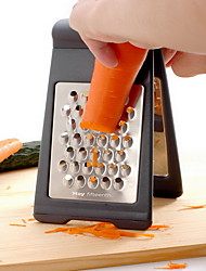 Stainless Steel Grater Zester - Two-Fold Collapsible Rust Resistant Sharp Blade Shredder-May Fifteenth