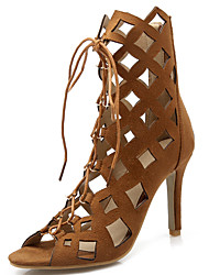 Women's Sandals Spring / Summer / Fall Gladiator / Novelty  Wedding / Party & Evening / Dress Stiletto HeelLace-up /