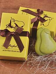 Festa de Casamento Party Favors & Gifts-1Peça/Conjunto Presentes Laço Material Amigo do Ambiente Other Amarelo