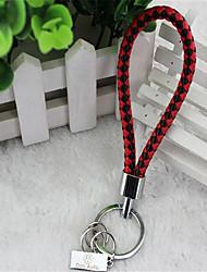 corée du sud tricot créatif hommes mode véhicule logo porte-clés porte-clés