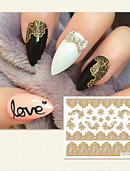 1 Nail Sticker Art Autocollants 3D pour ongles Maquillage cosmétique Nail Art Design
