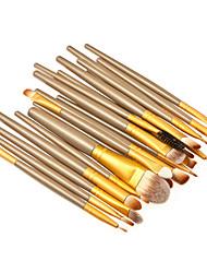 20 ensembles de brosses Poil Synthétique Professionnel / Portable Bois Œil / Lèvre / Visage Autres