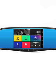Intelligent Rearview Mirror GPS Voice Navigation Recorder