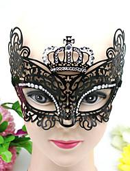 1pc escavar conjunto trado máscara de ferro qrought para o partido traje de Halloween