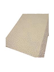 nota 20 um pacote de 60 * 52 centímetros de cor whiteflowers leite acondicionamento de papel