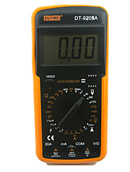 DT9205A Digital Digital Display High-Precision Range Multimeter
