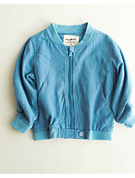 Boy's Casual/Daily Solid Jacket & CoatCotton Spring / Fall Blue / Orange / Yellow