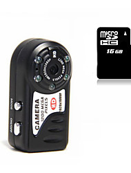 Other Plastica Mini Camcorder 1080P / Microfono Nero 1.4