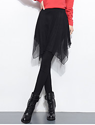 Women's Solid Black Jeans Pants,Simple All Seasons