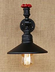 ac 220-240 40 e27 rustikal / Lodge Malerei Merkmal für Wand Glühbirne includedambient Licht sconces Lichtwand schwarz