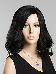 Fashion Natural  Curly Human Hair Wigs For  Woman