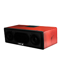Q1 Wireless Bluetooth Speaker (Note Red Wood)
