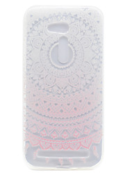 For ASUS ZB551KL ZB452KG Pink Sunflower Pattern High Permeability TPU Material Phone Shell
