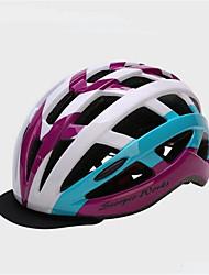 Capacete(Vermelho / Azul / Roxo,PC / EPS) -Montanha / Esportes-Unisexo 28 AberturasCiclismo / Ciclismo de Montanha / Ciclismo de Estrada