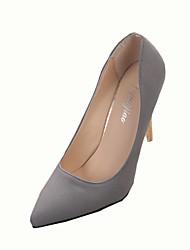Women's Heels Spring Summer Fall Comfort PU Casual Low Heel Black Red Gray Other