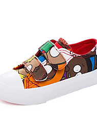 Boy's Sneakers Spring / Fall Comfort Canvas / Cotton Outdoor / Casual Flat Heel Hook & Loop  Walking / Sneaker