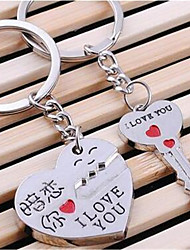 Couple Metal Keychain Crush Your Car Key Pendant