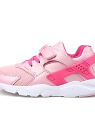 Boy's Sneakers Spring / Fall Comfort PU Outdoor Flat Heel Others / Hook & Loop Black / Blue / Pink Walking