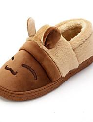 Men's Fashion Slippers & Flip-Flops Indoor Cotton Slippers Casual Flat Heel Slip-on Gray / Coffee Walking