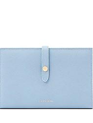 LaFestin® Femme Cuir de Vache Porte-chéquier Rose / Bleu-618687