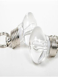 The LED light bulb key chain Dazzle colour light bulb key chain 22 g mini colorful light bulb key chain