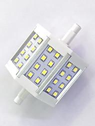R7S 78mm 24x 2835SMD 6W Warm White / Cool White 600LM 220Beam Horizontal Plug Lights  Flood Light AC85-265V
