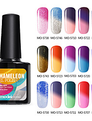 Modelones 10ml Color Changing Nail Gel Soak off UV Gel Long Lasting