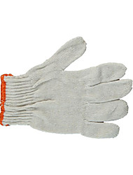 hilados de algodón resistente al desgaste cifrado guantes de protección 10 envasados para la venta (5 pares)
