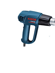 pistola de ar quente de cozimento elétrico secador de cabelo arma termostato