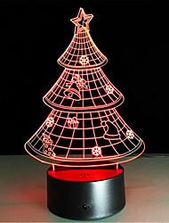 il regalo di natale 3d Nightlight creativo colorato lampada a led