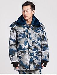 Wandern Softshell Jacken Unisex Atmungsaktiv / warm halten / Windundurchlässig / tragbar Winter Baumwolle TarnfarbenS / M / L / XL / XXL