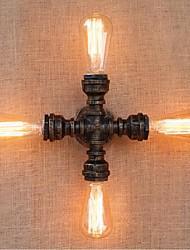 AC 220V-240V 40w e27 saudade bg802-4 tubulação de água simples luz decorativos de parede lâmpada de parede pequeno