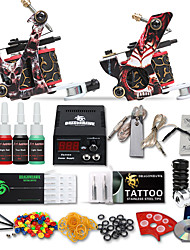 dragonhawk® kit tattoo kits 2 máquinas