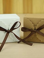 12 Шт./набор Фавор держатель-Кубический Картон Коробочки Подарочные коробки Без персонализации