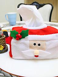 ornamento do Natal caixa de tecido de Natal 16 * 10 * 8 centímetros