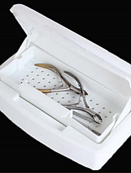 1PCS  Manicure Tools Alcohol Disinfection Sterilization Box