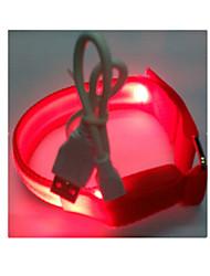 LED Sport Bracelet Arm With Reflective Fluorescent Bracelets