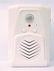 8001 АБС-пластик Невизуальные дверной звонок Беспроводной Doorbell системы