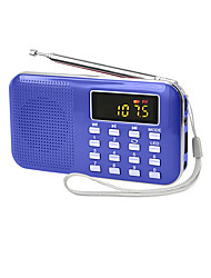 Y-896 Card Radio (Note Blue)