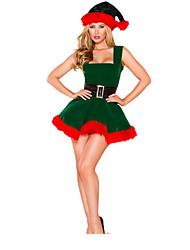 Costumes de Cosplay Vert Térylène Accessoires de cosplay Noël / Carnaval